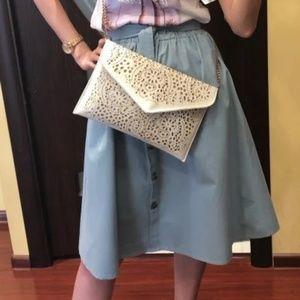 Dresses & Skirts - Midi knee high waisted skirt